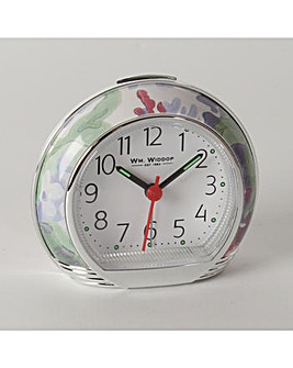 Wm.Widdop Green Alarm Clock