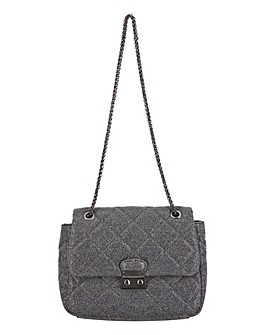 Sparkle Padded CrossBody Bag