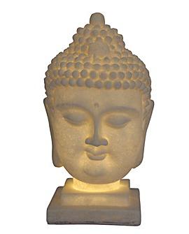 Illuminated Thai Buddha Head
