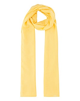 Lightweight Yellow Value Scarf
