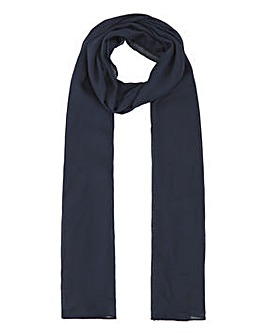 Lightweight Navy Value Scarf