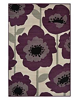 Poppy Floral Rug