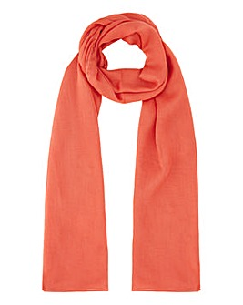 Lightweight Red Value Scarf