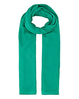Lightweight Green Value Scarf