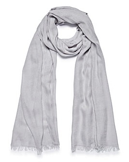 Lightweight Grey Value Scarf
