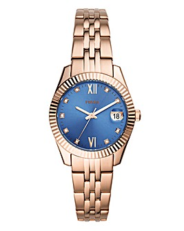 Fossil Scarlette Mini Rose Gold Watch