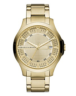 Armani Exhange Gold Hampton Watch