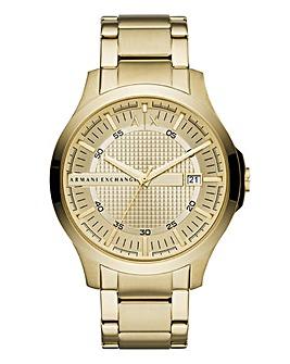 Armani Exchange Gold Hampton Watch