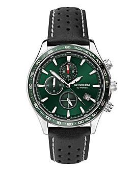 Sekonda Mens Dual-Time Watch
