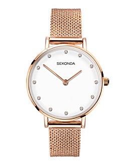 Sekonda Rose Gold Milanese Watch