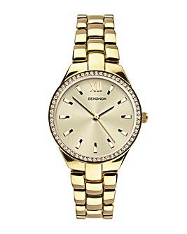 Sekonda Temptations Gold Plated Watch