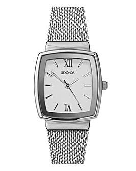 Sekonda Silver Rectangle Dress Watch