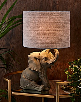 Hathi Elephant Table Lamp