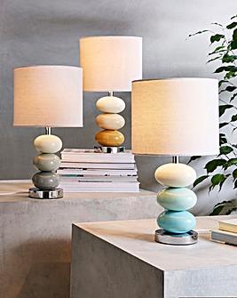 Esme Pebble Bedside Table Lamp