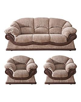 Warwick 3 Seater Sofa Plus 2 Chairs