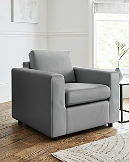 Alicante Faux Leather Armchair