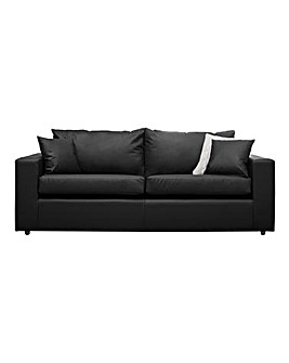 Alicante Faux Leather 3 seater sofa