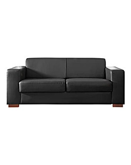 Memphis Faux Leather 3 seater Sofa