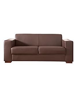 Memphis Faux Leather 3 seater Sofa