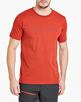 Berghaus Big Outline Logo Short Sleeve T-Shirt