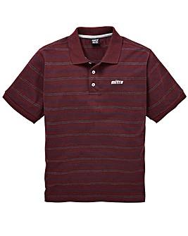 Mitre Stripe Polo Regular