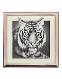 Naturecraft 3D Tiger Framed Print