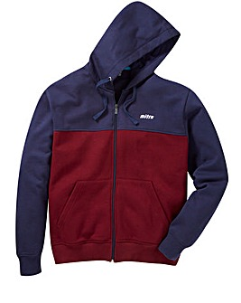 Mitre Colour Block Zip-Through Hoodie Regular