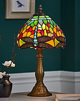 "Mitcham 8"" Tiffany Table Lamp"