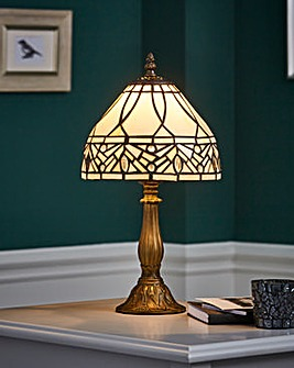 "Kilbride 8"" Tiffany Table Lamp"