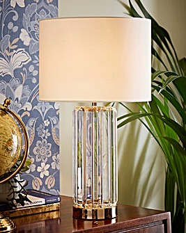 Charles Crystal Glass Table Lamp