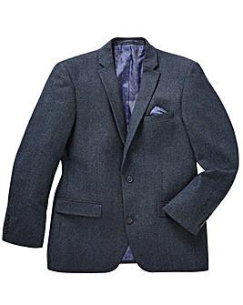 Jacamo Black Label Tweed Wool Blazer R