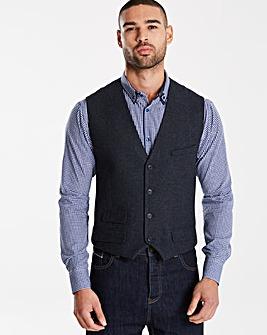 Jacamo Black Label Wool Waistcoat R