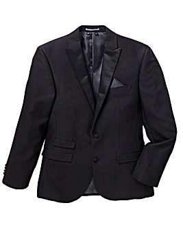 Jacamo Black Label Jacquard Party Blazer