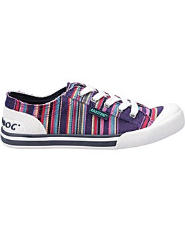Rocket Dog Jazzin Canvas Aloe Trainer