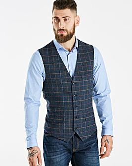 Jacamo Black Label Blue Waistcoat R