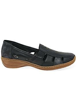 Rieker Denise Standard Fit Slip On Shoes