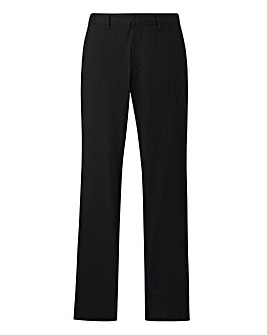 Jacamo Black Label Black Trousers 33in