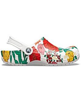 Crocs Classic Floral Print Clog