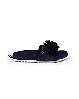 Pretty You London Albany Slider Slippers for Women