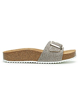 Daniel Parisa Buckle One Strap Mules
