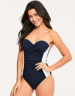Figleaves Underwired Bandeau Swimsuit