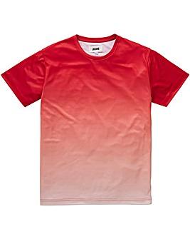 Jacamo Red Faded Sub T-Shirt R