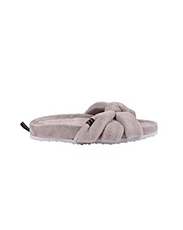 Pretty You London Ariel Slider Slippers for Women