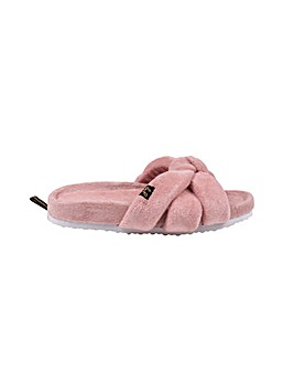 Pretty You London Ariel Slider Slippers for Women