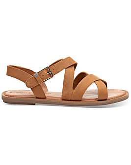 Toms Leather Sicily Women's Sandals