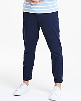 Jacamo Navy Slim Chino 31in