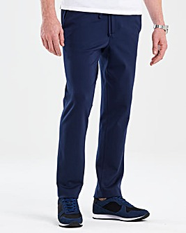Flintoff By Jacamo Navy Trouser 31in