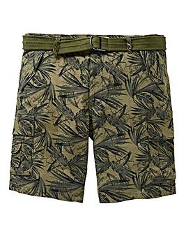 Print Axel Cargo Shorts