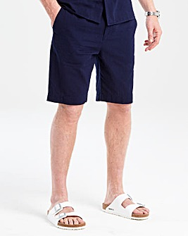 Flintoff By Jacamo Navy Shorts