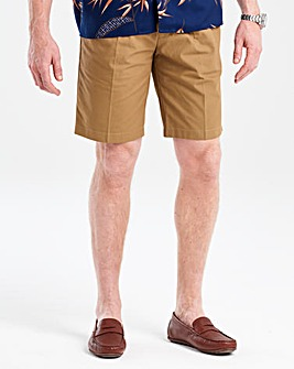 Flintoff By Jacamo Tobacco Shorts